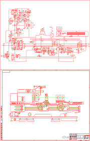 Курсовые и дипломные работы станки токарные металлорежущие  Курсовая работа Токарно винторезный станок 16К20