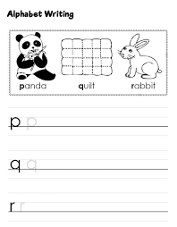 ABC Practice Worksheets Free | Learning Printable