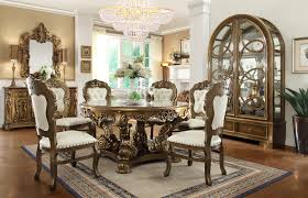 Old World Dining Room Sets Details About Perimeter Table Round Dining Table W Perimeter