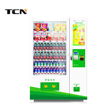 Vending Machine Price In Karachi Delectable Tcn Automatic Snack And Drink Vending Machine With Touch Screen