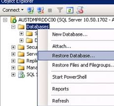 right databases re database