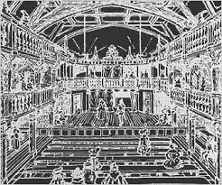 Blackfriars Playhouse Seating Chart Elizabethan Theatre Audiences