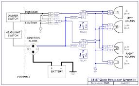 quad headlight wiring diagram quad wiring diagrams online headlight relay harness upgrade