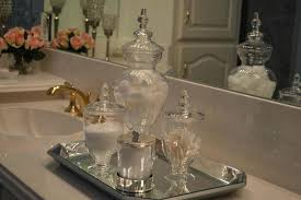 Apothecary Jar Decorating Ideas Bathroom Apothecary Jars Large Size Of Bathroom Bathroom Ideas 40