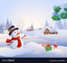 Animated Snow Scenes Snowy Scene