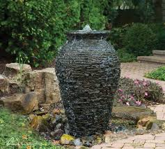 outdoor fountain kits urn fountains