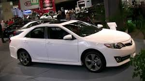toyota camry 2012 white. Perfect 2012 2012 Toyota Camry SE Exterior And Interior At Montreal Auto Show Inside White