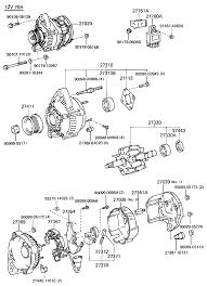 The mr2oc online parts catalog alternator diagram wiring alternator full size
