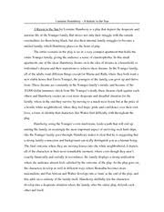 a raisin in the sun black boy fly comparison jaimecallemoreno 1 pages lorraine hansberry a raisin in the sun summary