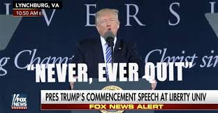 Image result for trump never quit pics