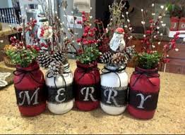 Christmas Decorated Mason Jars 100 Creative DIY Christmas Centerpieces Ideas Using Mason Jars 86
