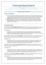 resume to apply job in engineering cipanewsletter christoph d kaderli resume work job application english
