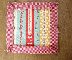 Quick & Easy Hot Pad Tutorial | Skip To My Lou & You will need to use some kind of binding to finish the edges of these hot  pads. A contrasting fabric looks really cute. You'll need a 2 1/2″ x 42″  strip ... Adamdwight.com