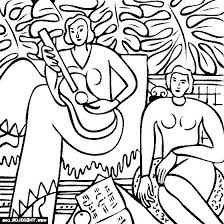 Matisse Coloring Pages At Getdrawingscom Free For Personal Use