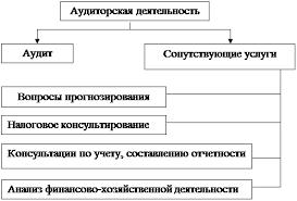 Курсовая работа Содержание аудита его компоненты Рисунок 1 Структура аудиторской деятельности