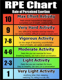 Rate Of Perceived Exertion Chart Aquino John Rpe Chart