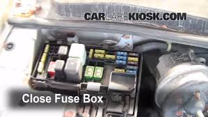 blown fuse check 1994 1997 honda accord 1996 honda accord ex 2 2 1996 Honda Accord Fuse Box Diagram 6 replace cover secure the cover and test component 1996 honda accord fuse panel diagram