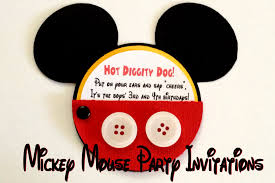 mickey mouse party invitations one artsy mama mickey mouse invite picture 001