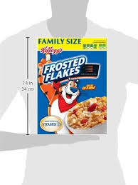 amazon kellogg s frosted flakes 26 8 ounce pack of 2 cold breakfast cereals