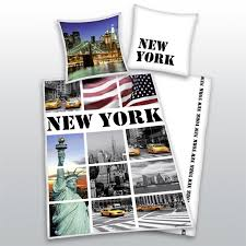 new york city bedding set tokida for home textile navy blue and