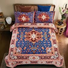 blue and brown duvet covers royal blue bedding set polyester cotton duvet cover bed sheet pillowcase4pcs