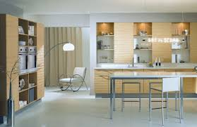 Small Modern Kitchen Fetching Hoos Range Installed On Teak Cabinets For Small Modern