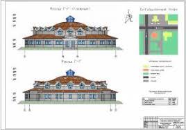 dp Многофункциональный центр культуры и спорта Дипломные  Многофункциональный центр культуры и спорта Фасады здания