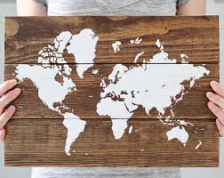 world map world map wall art reclaimed wood wall art wooden world map wooden wall decor world map art world travel map on reclaimed wood world map wall art with rustic wall decor wooden wall art rustic world map map etsy