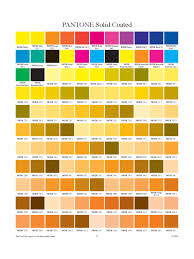 Pantone Color Chart Template 5 Free Templates In Pdf Word