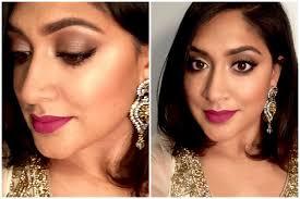 indian wedding makeup bronze smokey eyes brown magazine you
