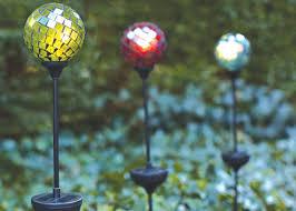 Solar Powered String Lights  Globe String Lights Solar And DeckingSolar Mosaic Garden Lights