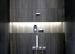 in shower lighting. 25 beautiful shower niches for your bath products in lighting