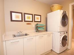 ... Exciting Laundry Room Design : Exciting Laundry Room Decorating Design  Ideas With Modern White Iron Washing ...