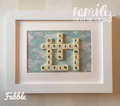 scrabble tile wall decor scrabble tile wall decor gift for most popular fabric square wall