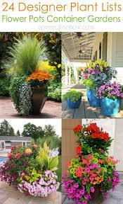 24 stunning container garden planting