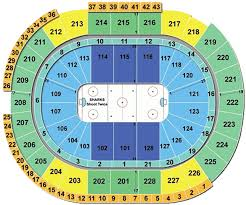 Sharks Game Seating Chart Clean Sharks Game Seating Chart 2019