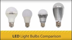 Light Bulb Youtube Led Light Bulbs Comparison Youtube