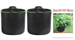 $4.76 (Free Shipping) <b>2 Gallon</b> Garden Flower <b>Plant</b> Grow Bag ...