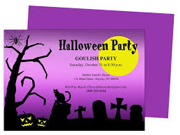 Blank Halloween Invitation Templates Halloween Party Invitation Templates Blank Halloween