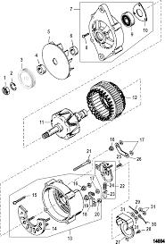 Mando marine alternator wiring diagram john deere 316 wiring harness