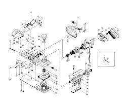 planer parts. makita 1805b parts schematic planer