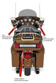 h d touring install information rear view ultra classic