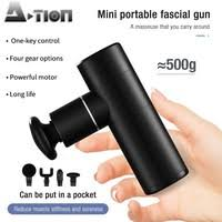 Professional Portable <b>Mini Pocket Massage</b> Gun Strong Power ...