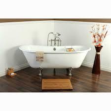 67 inch cast iron double slipper clawfoot bathtub free today 15130592