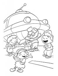 Little Einsteins Coloring Pages Printable | Movies and TV Show ...