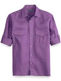 Paul Fredrick Size Chart Paul Fredrick Mens Linen Casual Shirt