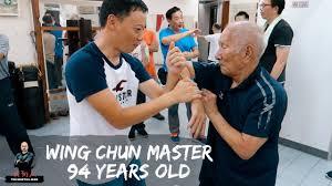 94 Year Old Wing Chun Grandmaster Ip Chun   Martial Diaries_013 - YouTube