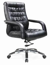 office leather chair. Medium Back Leather Chair \u2013 HF 435-1 Office I
