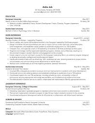 Student Resume Sample Complete Writing Guide With Examples For