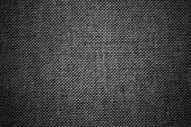 black texture. Black And White Upholstery Fabric Close Up Texture